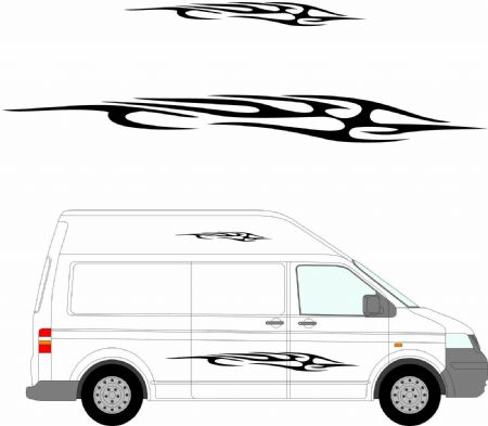 (No.138) MOTORHOME GRAPHICS STICKERS DECALS CAMPER VAN CARAVAN UNIVERSAL FITTING